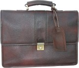 Stamp 17 inch Laptop Messenger Bag (Brow...