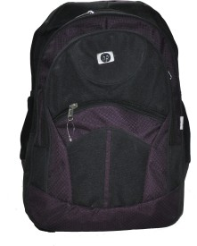 Orion 14 inch, 8 inch, 9 inch, 10 inch, 11 inch, 12 inch, 13 inch, 15 inch Laptop Backpack(Purple, Black)
