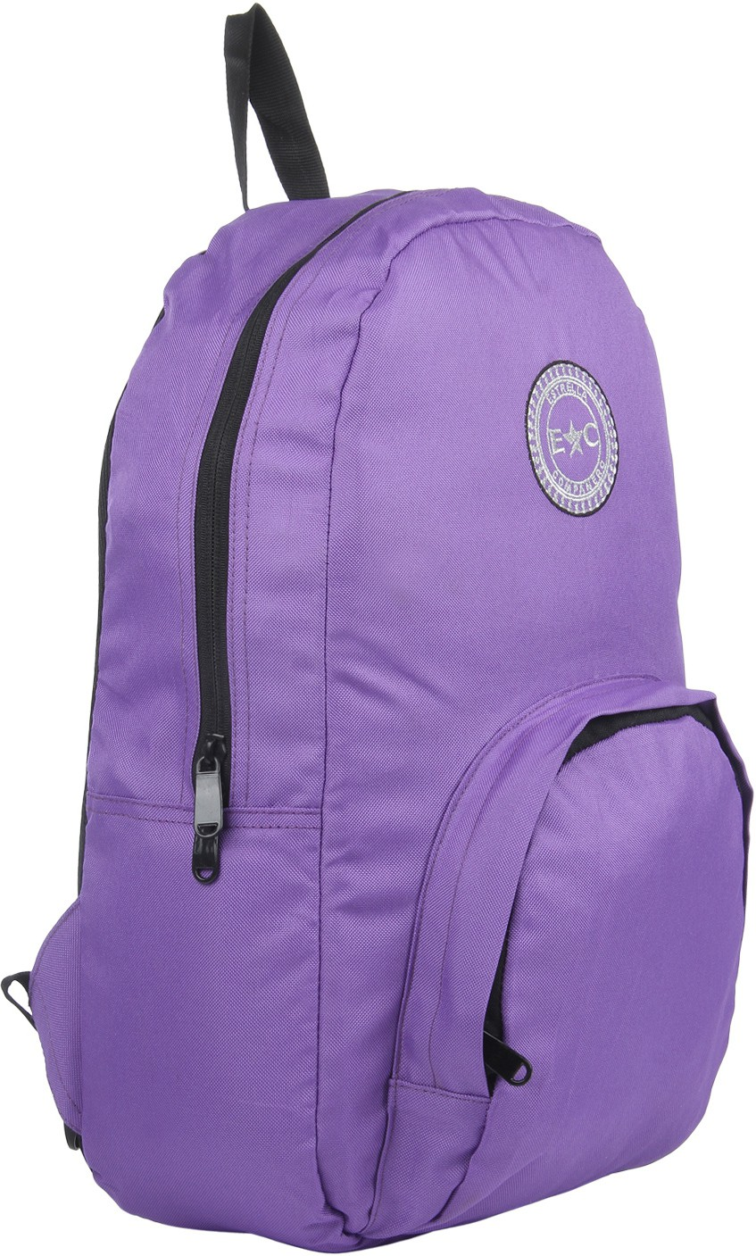 Estrell Companer 15.6 inch Laptop Backpack(Purple)
