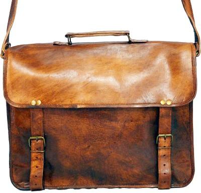 Hide 1858 11 inch Laptop Messenger Bag