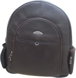 Stamp 17 inch Laptop Backpack (Brown)