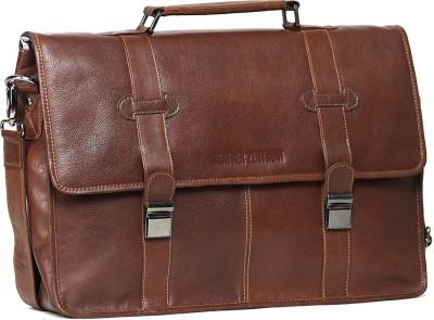 Leather Zentrum 15 inch Laptop Messenger Bag available at Flipkart for Rs.5299