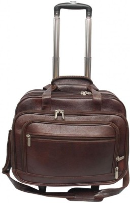 Nerita 16 inch Expandable Trolley Laptop Strolley Bag