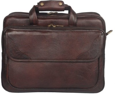 Leather Bags & More... 17 inch Laptop Messenger Bag