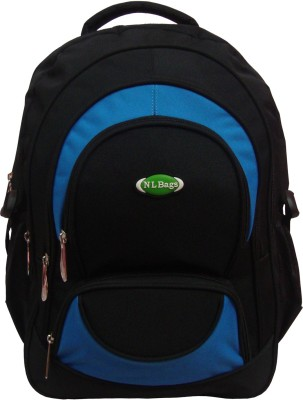 Nl Bags fivepocketlap 25 L big Laptop Backpack