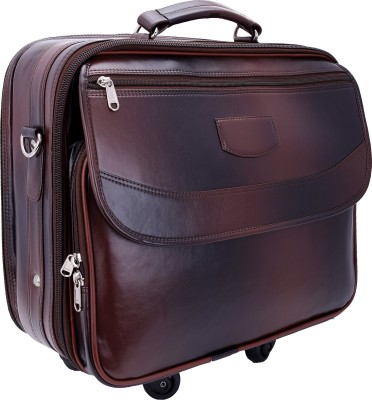 Borse 15 inch Expandable Trolley Laptop Strolley Bag