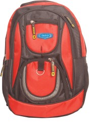 Oril 18 inch Laptop Backpack(Red)