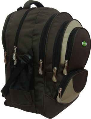 Nl Bags 16 inch Laptop Backpack(brown, biscut)