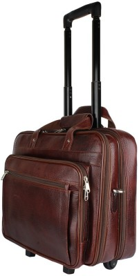 Madame Exclusive 16 inch Trolley Laptop Strolley Bag