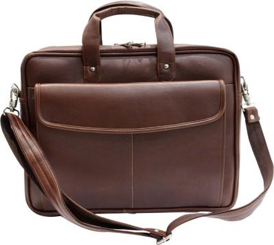 American-Elm 17 inch Expandable Laptop Messenger Bag