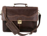 Romari 16 inch Laptop Messenger Bag (Bro...