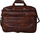 RLE 15 inch Laptop Messenger Bag (Tan)