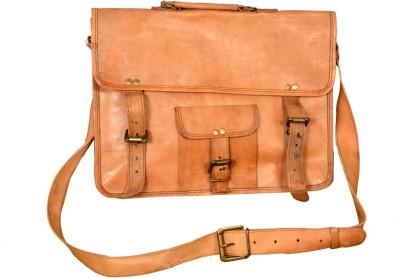 AARNAS 14 inch Laptop Messenger Bag(Brown)