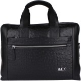 Mex 14 inch Laptop Messenger Bag (Black)