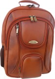 Stamp 15 inch Laptop Backpack (Tan)