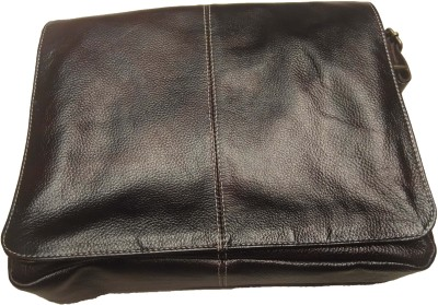 Leather Mall 11 inch Laptop Messenger Bag