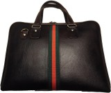 Leather Mall 15 inch Laptop Case (Black)
