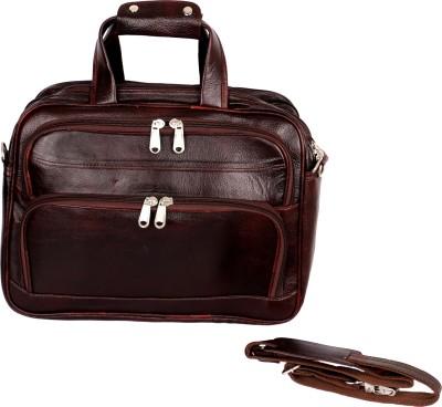 Kraftsmen 15 inch Expandable Laptop Messenger Bag