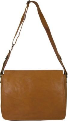 Indostyle 14 inch Laptop Messenger Bag(Tan)