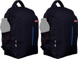 Nl Bags 16 inch Laptop Backpack (Black, ...