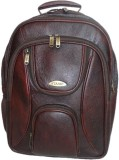 Stamp 15 inch Laptop Backpack (Brown)