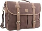 Allen Solly Laptop Messenger Bag (Brown)
