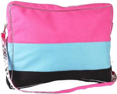 Harp Girls Casual Pink Canvas Sling Bag