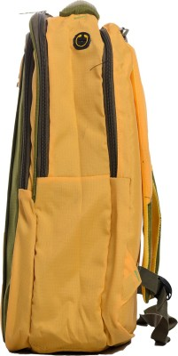 Fashion Bags & Co. 15 inch Laptop Backpack(Yellow, Green)