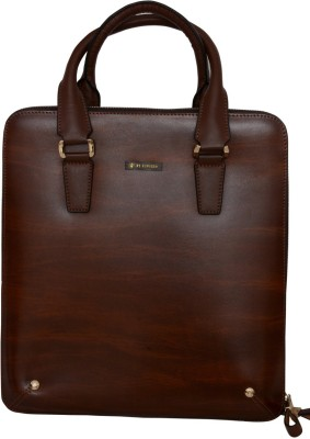 Pick Ur Bags 19 inch Laptop Messenger Bag(Brown)