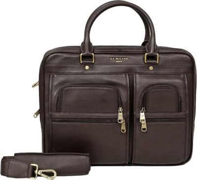 Da Milano 15 inch Laptop Messenger Bag available at Flipkart for Rs.15999