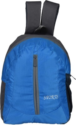 Hanu MNBG11SKYBLUE 18 L Trolley Backpack