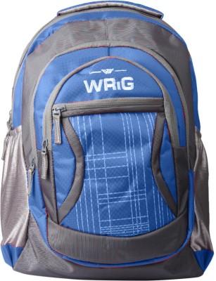 WRIG WBP-017 Blue 20 L Laptop Backpack