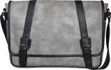 Mohawk 14 inch Laptop Messenger Bag (Gre...