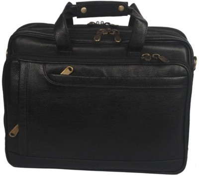 Leather Bags & More... 16 inch Expandable Laptop Messenger Bag