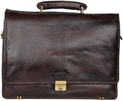 Leather Bags & More... 16 inch Laptop Messenger Bag
