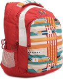 Wildcraft Laptop Backpack (Red, White)