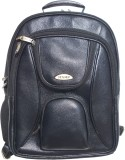 Stamp 15 inch Laptop Backpack (Black)