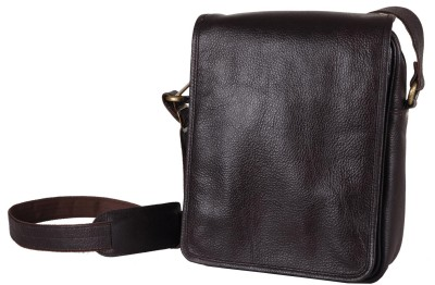Hashain Leather Works 11 inch Laptop Strolley Bag
