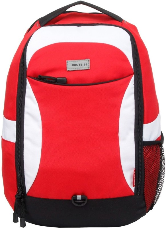 Harissons 15.6 inch Laptop Backpack(Red) best price on Flipkart @ Rs. 799