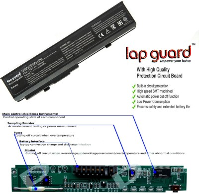 Lapguard Lenovo SMP-SRXXXSS6 6 Cell Compatible Laptop Battery For Lenovo SMP-SRXXXSS6/SMP-SRXXXSS6/FUO-SRXXXSY6/GLW-SRXXXPS6 Laptop Battery