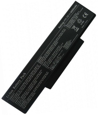 ARB BTY-M68 Compatible Black 6 Cell BTY-M68 Laptop Battery