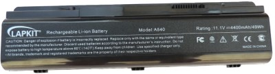 Lapkit A840 6 Cell Designed for refers to the products for which the battery is designed. Possible values are Alienware Laptop Battery