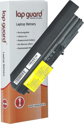 Lapguard Lenovo ThinkPad T61 6379 6 Cell Compatible Laptop Battery For Lenovo ThinkPad T61 6379 / 41U3197 / 41U3197 / 41U3198 / 42T4530 / 42T4531 / 42T4547 / 42T4652 / 42T5225 / 42T5227 / 42T5229 / 42t5230 / 42t5263 / 43R2499 / ASM 42T5265 / FRU 42T4548 / FRU 42T5262 / FRU 42T5264 Laptop Battery