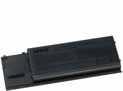 Apexe Dell Latitude D630c 6 Cell Compatible Laptop Batteries Dell Latitude D630C, D620 Laptop Battery
