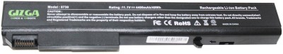 Gizga Essentials 8310P, 8730 6 Cell HP EliteBook Laptop Battery