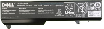 Dell K738H 6 Cell Dell Vostro 1310, Dell Vostro 1510, Dell Vostro 1520, Dell Vostro 2510 Laptop Battery