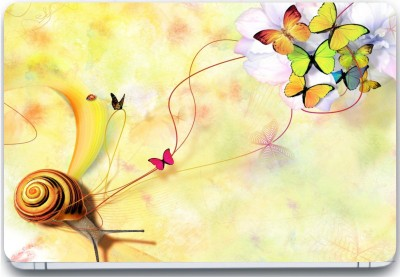 Trendsmate Color Butterfly 3M Vinyl and Lamination Laptop Decal 15.6