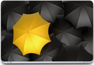 Trendsmate Black Umbrellas 3M Vinyl and Lamination Laptop Decal 15.6