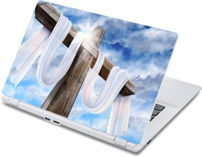 ezyPRNT Crucifix (13 to 13.9 inch) Vinyl Laptop Decal 13