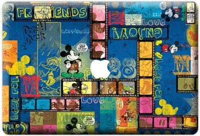 Planet Superheroes Mickey Reel Vinyl Laptop Decal